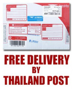 Fre delivery by Thailand Post